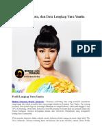 Profil, Biodata, Dan Data Lengkap Yura Yunita