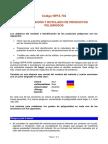 Codigo Nfpa 704 Identificacion y Rotulado de Productos Peligrosos