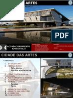 Acondicionamiento Ambiental -cidade das artes