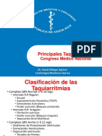 Principales Taquiarritmias. CMN 2014