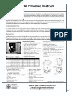 Datasheet Universal Rectifier 50v30Amp