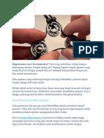 Cara Membuat Fidget Spinner Sendiri Mudah