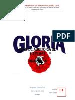 Plan Auditoria Grupo Gloria Sa