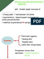 DASAR PENGOBATAN DALAM MASYARAKAT PRIMITIF.ppt
