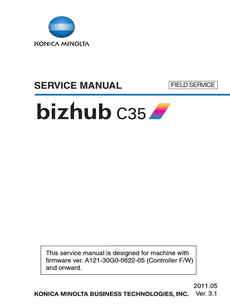 konica minolta bizhub c35 service manual ac power plugs and rh es scribd com bizhub c35p service manual Bizhub C353