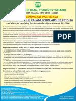 Dapjak Scholarship