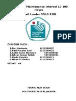Preventive Maintanance Interval 10 Whell Loader Sdlg