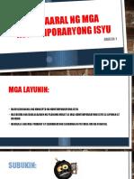 Araling 1_Pag-Aaral Ng Mga Kontemporaryong Isyu