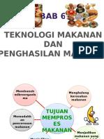 Bab 6 Teknologi Makanan