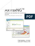 AxTrax Rosslare Manual SP