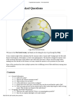 Frequently Asked Questions - The Flat Earth Wiki