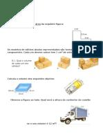Ficha de Avaliacao Mat6 Volumes