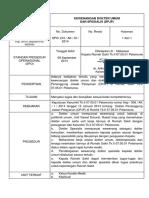 SOP Kewenangan Dokter Umum Dan Dokter Spesialis DPJP