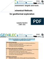 Geoelec TrainingPisa Session1 GeochemicalTools