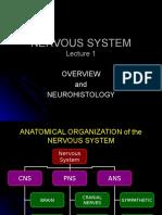 Neuro 01 Organization and Histology Student
