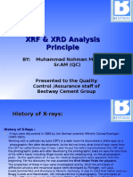 XRD & XRF Principle Analysis