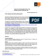 Notice 105 - Guidelines for the Implementation of the Maritime Labour Convention 2006 (1)