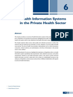 Health Information Systems in the Private Health Sector