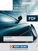Car Loan Agreement for companies
