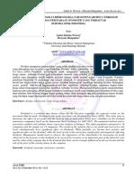 Jurnal Analisis Pengaruh Laba Bersih Dan Resiko Tingkat Saham Terhadap DPS