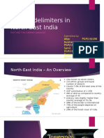 Growth Delimiters in North-East India_Group 6_Sec D