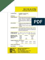 SS 316L(0.5FN)