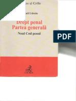Drept Penal Partea Generala de Mihail Udroiu 2014