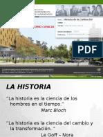 Historia Como Ciencia