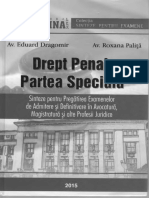 Drept Penal Special 2015 Sinteze Pentru Examen