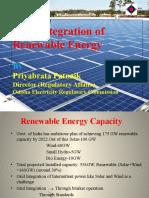 Grid Integration of Renewable Energy a presentation by Dr.Priyabrata Patnaik