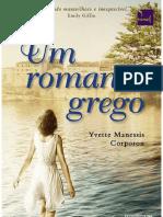 Yvette Manessis Corporon - Um Romance Grego - Grécia