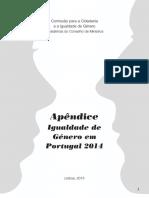APENDICE Igualdade de Género Em Portugal 2014