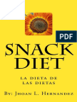 Snack Diet (Spanish Edition) - Jhoan Hernandez