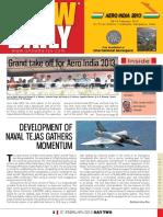 Aero India Show Daily Day 2