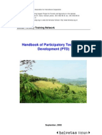 PTD Participatory Technology Development Handbook En