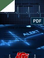 Wireless Heart Failure Alert System PPT