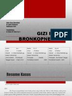 Gizi Buruk dan Bronkopneumonia