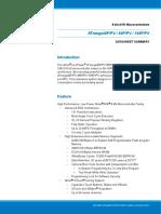 Atmel 8025 8 Bit AVR Microcontroller ATmega48P 88P 168P Summary