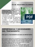 TRATAMIENTO DEL AGUA PARA CALDERAS2016.pptx