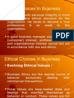 Ethical Choices in Business (Modified)
