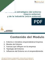 1. Analisis Estrategico Del Entorno y de La Industria 1
