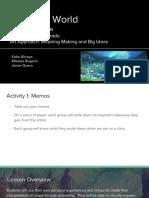 group 4 lesson plan- utopia