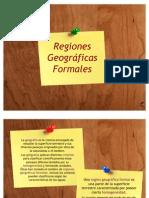 Regiones Geográficas Formales
