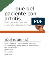 Enfoque Del Paciente Con Artritis