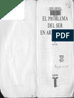 Pierre Aubenque El Problema Del Ser en Aristoteles Ensayo Sobre La Problemática Aristotélica