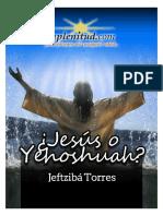 Jesús o Yehoshuah