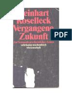 Koselleck, R. (1979), Vergangene Zukunft