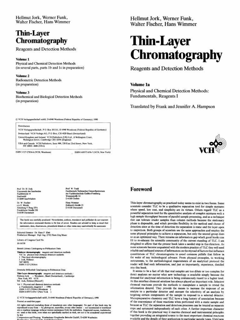 Thin Layer Chromatography | Thin Layer Chromatography | Chromatography