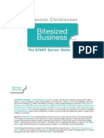 Bitesized Business - The START Series