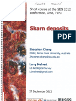 2.Skarn Deposits Short Course 120927